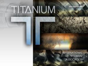 INTERNATIONAL TITANIUM ASSOCIATION