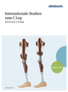 Internationale Studien zum C-Leg