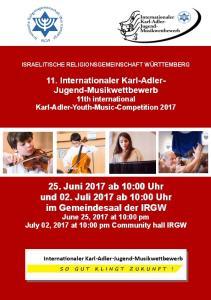 Internationaler Karl-Adler-Jugend-Musikwettbewerb
