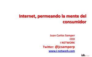Internet, permeando la mente del consumidor