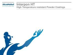 Interpon HT. High Temperature resistant Powder Coatings