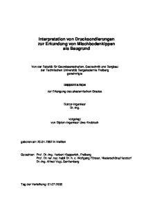 Interpretation von Drucksondierungen zur Erkundung von Mischbodenkippen als Baugrund