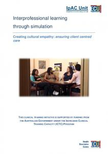 Interprofessional learning through simulation
