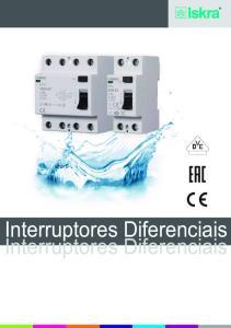 Interruptores Diferenciais Interruptores Diferenciais