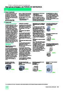 Interruptores-seccionadores