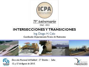 INTERSECCIONES Y TRANSICIONES