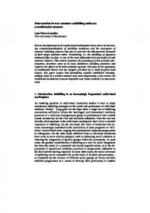 Intervention in new amateur subtitling cultures: a multimodal account