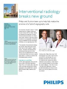 Interventional radiology breaks new ground