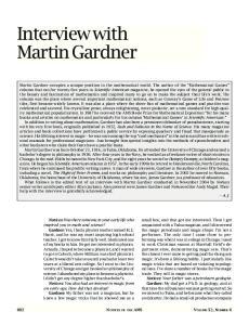 Interview with Martin Gardner