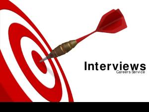 Interviews. Careers Service