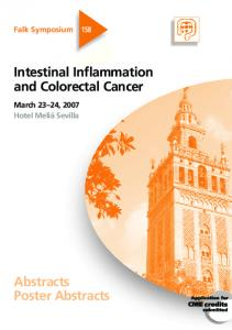 Intestinal Inflammation and Colorectal Cancer
