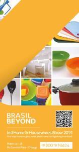 Intl Home & Housewares Show 2014