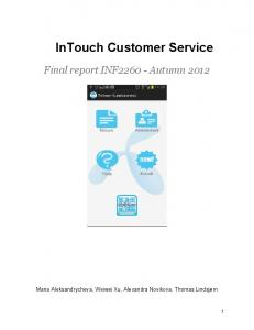 InTouch Customer Service