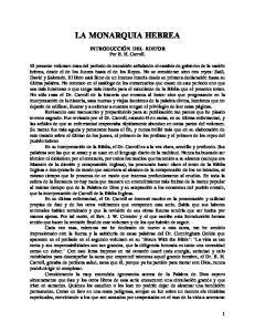 INTRODUCCIÓN DEL EDITOR