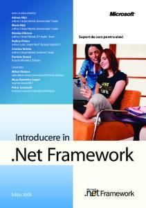 Introducere în.net Framework