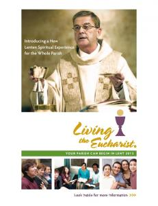 Introducing a New Lenten Spiritual Experience for the Whole Parish