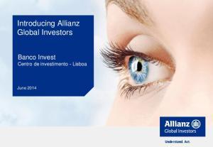 Introducing Allianz Global Investors