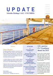 Introducing COLUMBIA Cruise Services