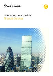 Introducing our expertise Financial Services