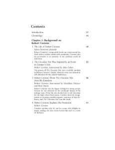 Introduction 11 Chronology 14