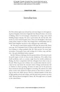 Introduction. Chapter One