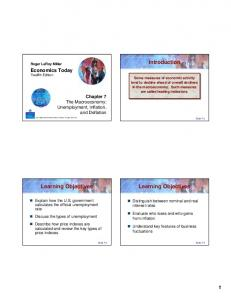 Introduction. Learning Objectives. Learning Objectives. Economics Today Twelfth Edition