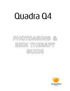 Introduction The Interaction Between Light and Skin General Considerations in Photoaging and Skin Therapy... 7