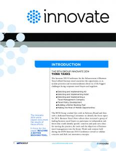 INTRODUCTION THINK TANKS