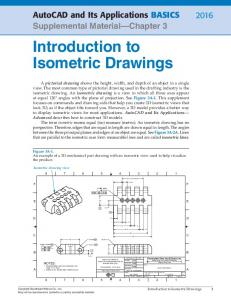 Introduction to Isometric Drawings