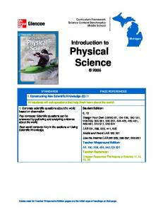 Introduction to Physical Science 2005