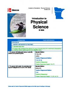 Introduction to Physical Science 2008