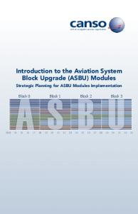 Introduction to the Aviation System Block Upgrade (ASBU) Modules