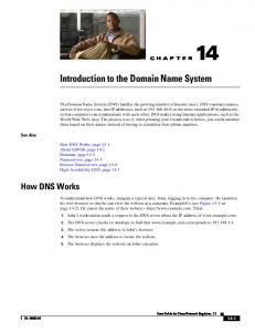 Introduction to the Domain Name System