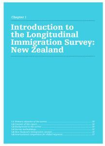 Introduction to the Longitudinal Immigration Survey: New Zealand