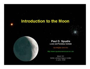 Introduction to the Moon