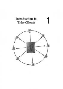 Introduction to Thin-Clients 1