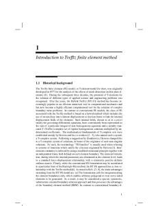 Introduction to Trefftz finite element method