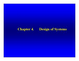 Introduction. What is a system?