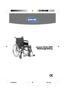 Invacare Action 2000 Bedienungsanleitung
