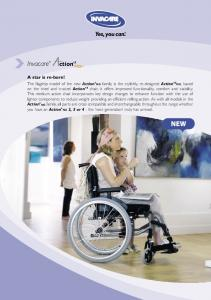 Invacare NEW. A star is re-born!