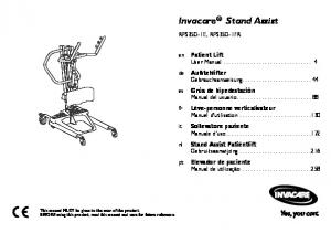 Invacare Stand Assist