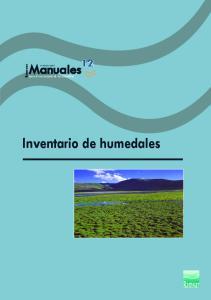 Inventario de humedales