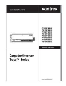 inversor Trace Series TR TR TR TR TR TR TR TR
