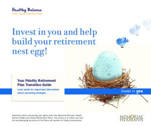 Invest in you and help build your retirement nest egg!