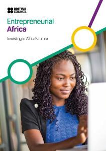 Investing in Africa s future