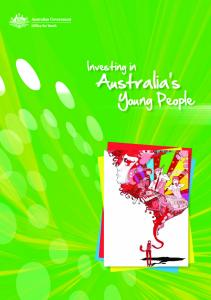 Investing in. Australia s. Young People