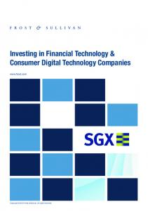 Investing in Financial Technology & Consumer Digital Technology Companies