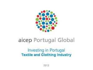 Investing in Portugal Textile and Clothing Industry