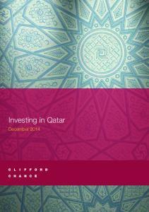 Investing in Qatar December 2014