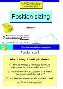 investing in shares: